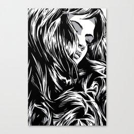 RZP Girl Canvas Print