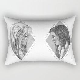 As the world falls down Rectangular Pillow