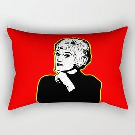 Bea Arthur | Golden Girl | Pop Art Rectangular Pillow