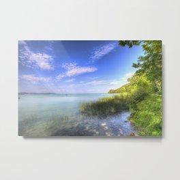 Lake Balaton Summer Metal Print
