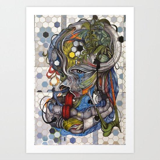 -.O Art Print