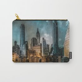 A Storm in New York City Carry-All Pouch