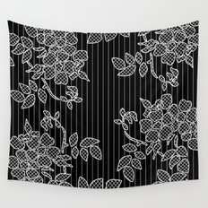 LIVING IN BLACK AND WHITE Wall Tapestry