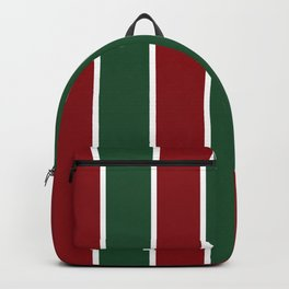 Holiday Stripes Backpack