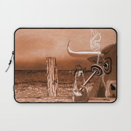Bulls Eye Laptop Sleeve