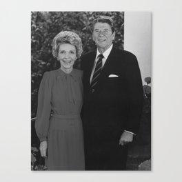 Ronald And Nancy Reagan Canvas Print