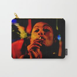 Smoking in the Nightclub Carry-All Pouch