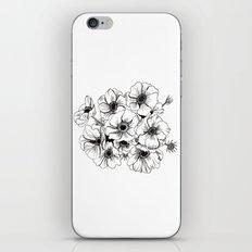 Anemones Bouquet iPhone & iPod Skin