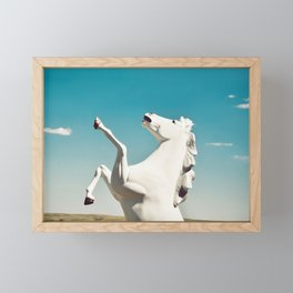 Guardian of the Plains Framed Mini Art Print