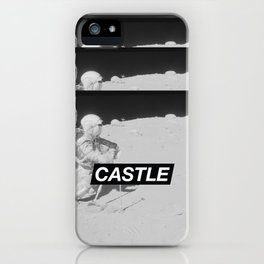 SURFACE // CASTLE iPhone Case