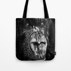 The Wise Simian (Gorilla) Tote Bag