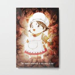 Kamado Ueshita Metal Print