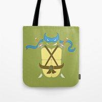 leonardo Tote Bags featuring Leonardo by Laz Llanes