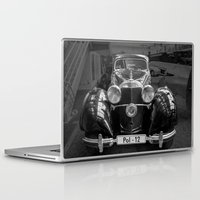 car Laptop & iPad Skins featuring Car vintage by Veronika