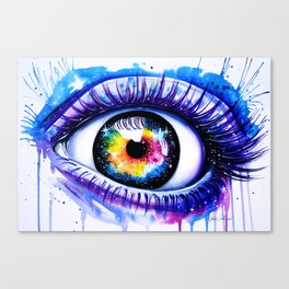 """""""Window to your galaxy"""" Canvas Print"""