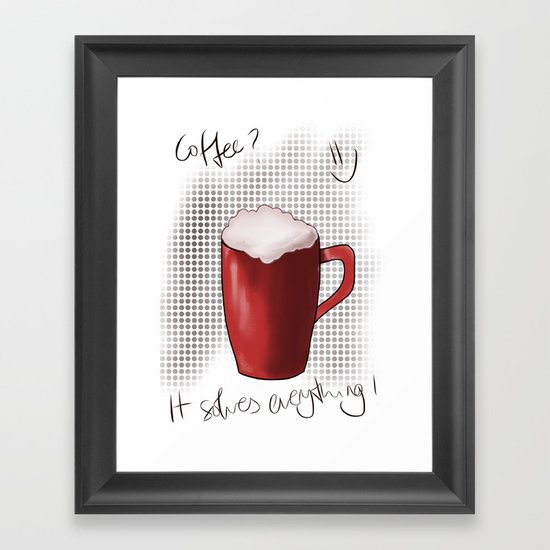 ONE MORE? Framed Art Print