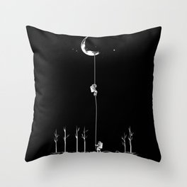 Down from the Moon Throw Pillow