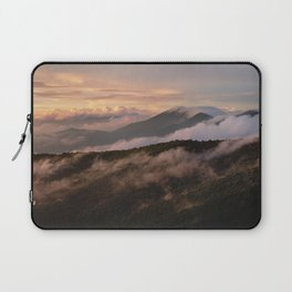 Clearing Storm, Craggy Gardens along Blue Ridge Parkway Laptop Sleeve