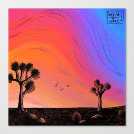 jt x sunset  Canvas Print