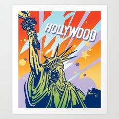 New York-Los Angeles Art Print