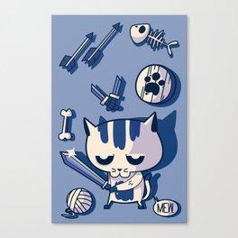 Cat the Conqueror Canvas Print