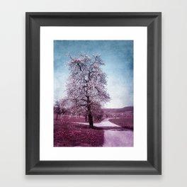BLOOMING TIME Framed Art Print