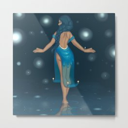Water Witch Metal Print