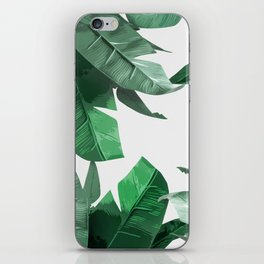 Tropical Palm Print iPhone Skin
