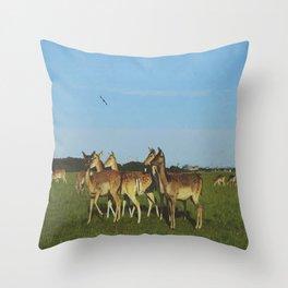 Oh Deer (Artistic/Alternative) Throw Pillow