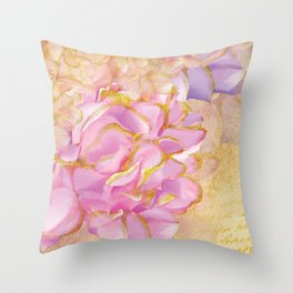 Luv Letter Throw Pillow