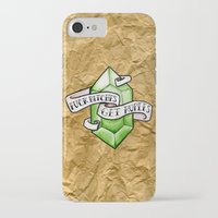 legend of zelda iPhone & iPod Cases featuring Zelda by Danni Fuentes