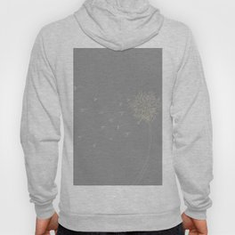 Dandelion in the wind Hoody