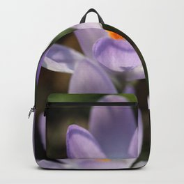 Crocus flowers Backpack