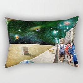 Space Walk Rectangular Pillow