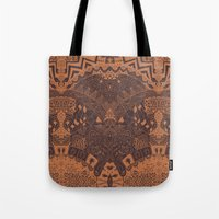 africa Tote Bags featuring Africa by Akwaflorell
