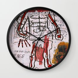 Mr Bones Wall Clock