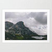 everything the light touches Art Print