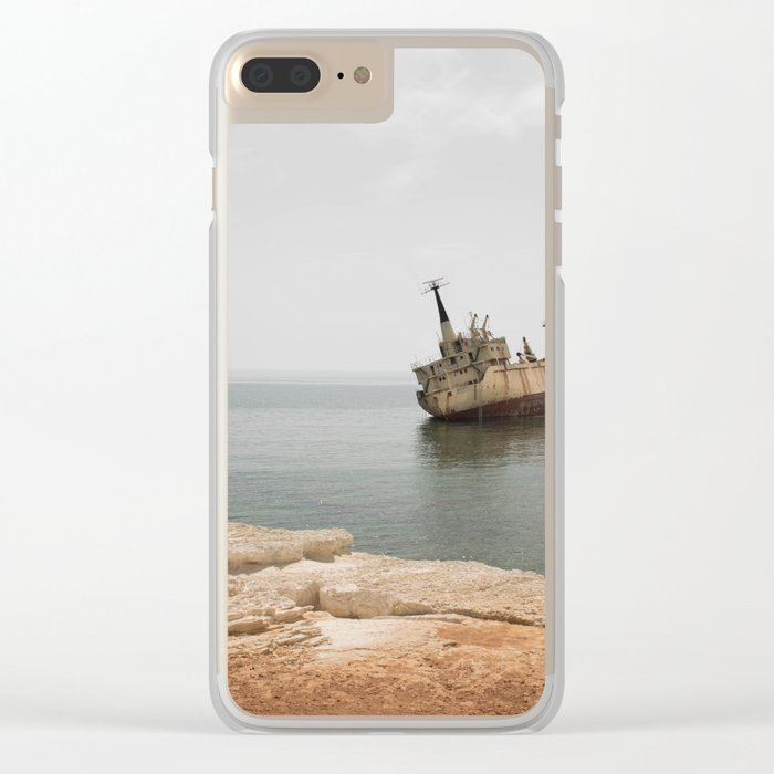 ISLAND STORIES XVII Clear iPhone Case