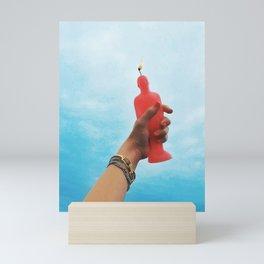 BURNING DESIRE Mini Art Print
