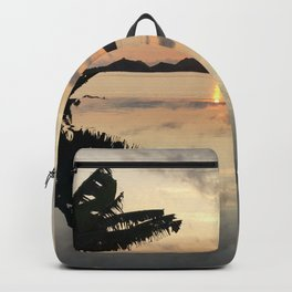 Sunset over Water Backpack