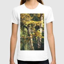 Autumnal reflection T-shirt