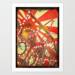 Spinning and Dreaming Art Print