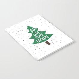 Tree of Christmas Present Notebook