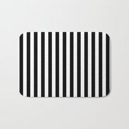 Stripe Black And White Vertical Line Bold Minimalism Stripes Lines Bath Mat