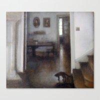 shadow Canvas Prints featuring Shadow by Aurelia Burnham