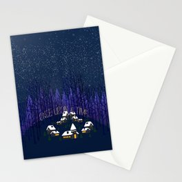 Once Upon a Time In Storybrooke Stationery Cards