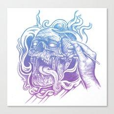 Painted Skull Canvas Print