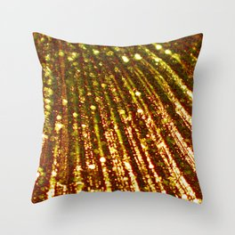 Triton´s Secrets - Mermaid´s Gold Throw Pillow