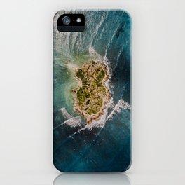 Flat Island iPhone Case