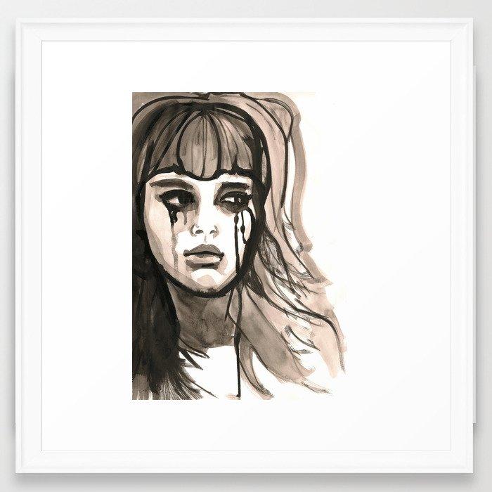 Tears  Framed Art Print